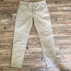 H&M Skinny Khaki Chino Pants 33